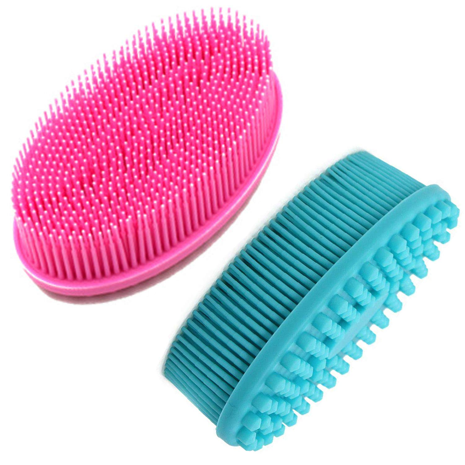 Silicone Body Scrubber Lowest Max 60% OFF price challenge 2 ABOLINE Show Exfoliating Pack
