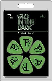 P Perri's Leathers Ltd. Guitar Picks (LP-GLO1)