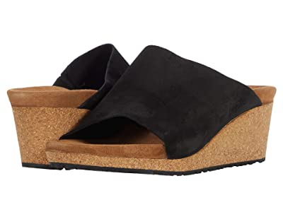 Birkenstock Namica by Papillio (Black Suede) High Heels