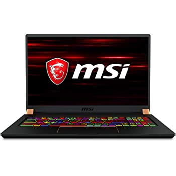 "MSI GS75 Stealth 10SE-620 17.3"" 240Hz Ultra Thin and Light Gaming Laptop Intel Core i7-10875H RTX2060 16GB 512GB NVMe SSD Win10PRO VR Ready"