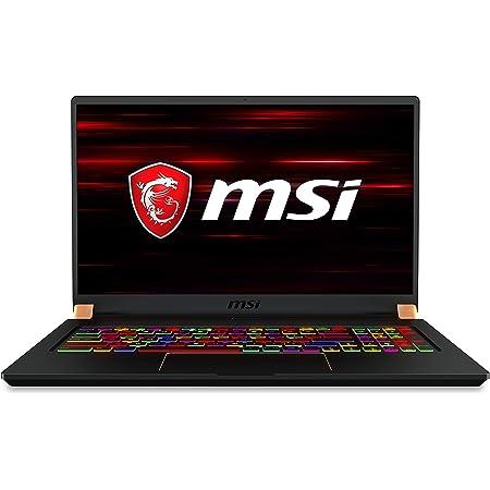 "MSI GS75 Stealth Gaming Laptop: 17.3"" 240Hz Display, Intel Core i7-10875H, NVIDIA GeForce RTX 2060, 16GB RAM, 512GB NVMe SSD, Win10 Pro, Black (10SE-620)"