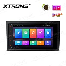 XTRONS 8 inch Touch Display Android 8.1 Octa-Core Car Stereo Radio Navigator GPS with USB Port Supports DVR 4G 3G OBD TPMS Backup Camera for Audi A4