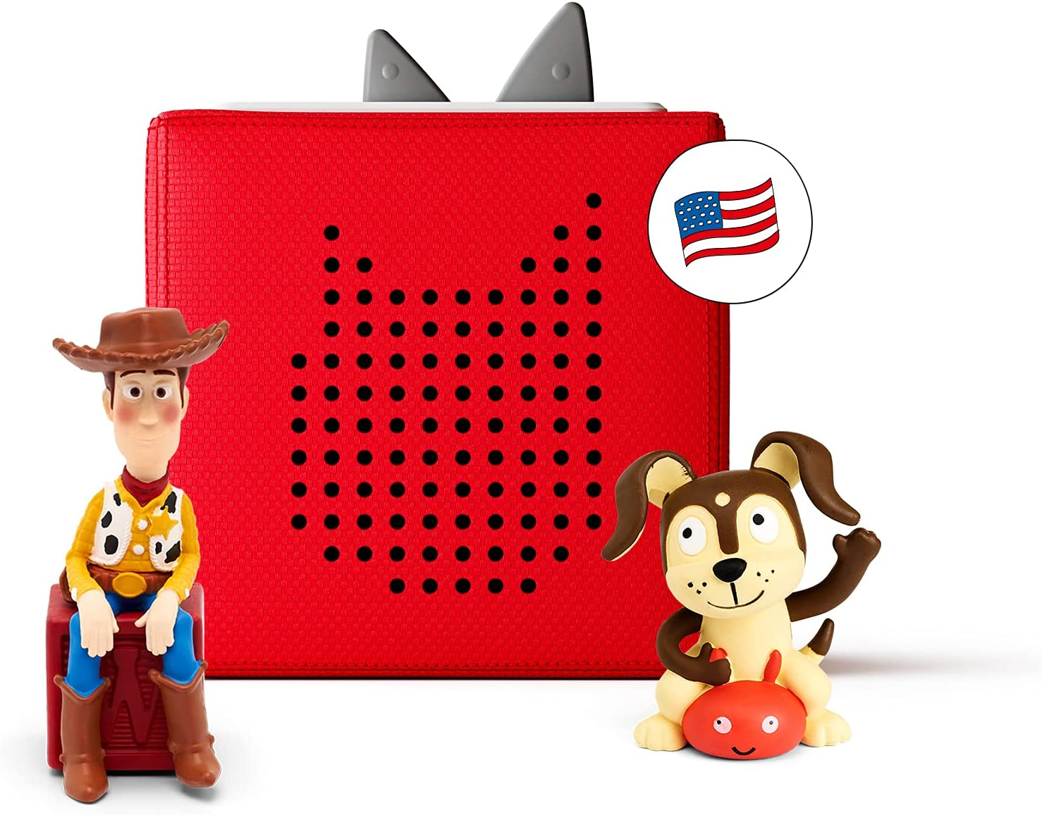 Toniebox Starter Sale item Set with Woody Playtime Super-cheap and Imagination Puppy -