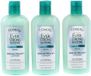 3 Pk. L'Oréal Paris EverStrong Sulfate Free Break Proof Lotion 4 Fl. Oz (12 Fl. Oz Total)