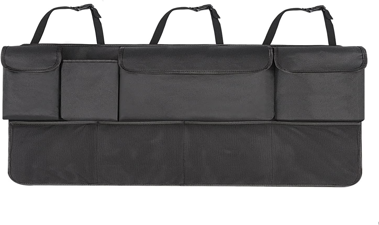 Car Backseat It is very popular Trunk Organizer and Storage Back Kick Easy-to-use Mat Seat Prot