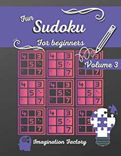Fun Sudoku for beginners 3: 100 easy puzzles