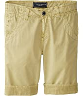 Toobydoo - Jeans Shorts in Army (Infant/Toddler/Little Kids/Big Kids)
