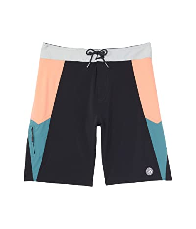 Volcom Kids Astropop Mod (Big Kids) (Black) Boy
