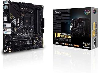 ASUS TUF Gaming B450M-PRO S AMD AM4 (8plus 2 Power Stages, 2.5Gb LAN, BIOS Flashback, AI Noise-Canceling Mic, USB 3.2 Gen ...