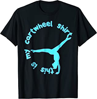 This Is My Cartwheel Shirt Gymnastics Youth Girls T-Shirt