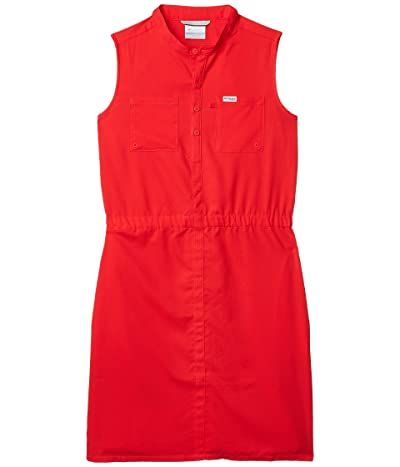 Columbia Kids Tamiami Sleeveless Dress (Little Kids/Big Kids) (Red Lily) Girl