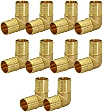 """1/"""" BRASS PEX TEES  1/"""" x 1/"""" x 1/""""  Use with Oetiker Sioux Chief crimp rings 2"""