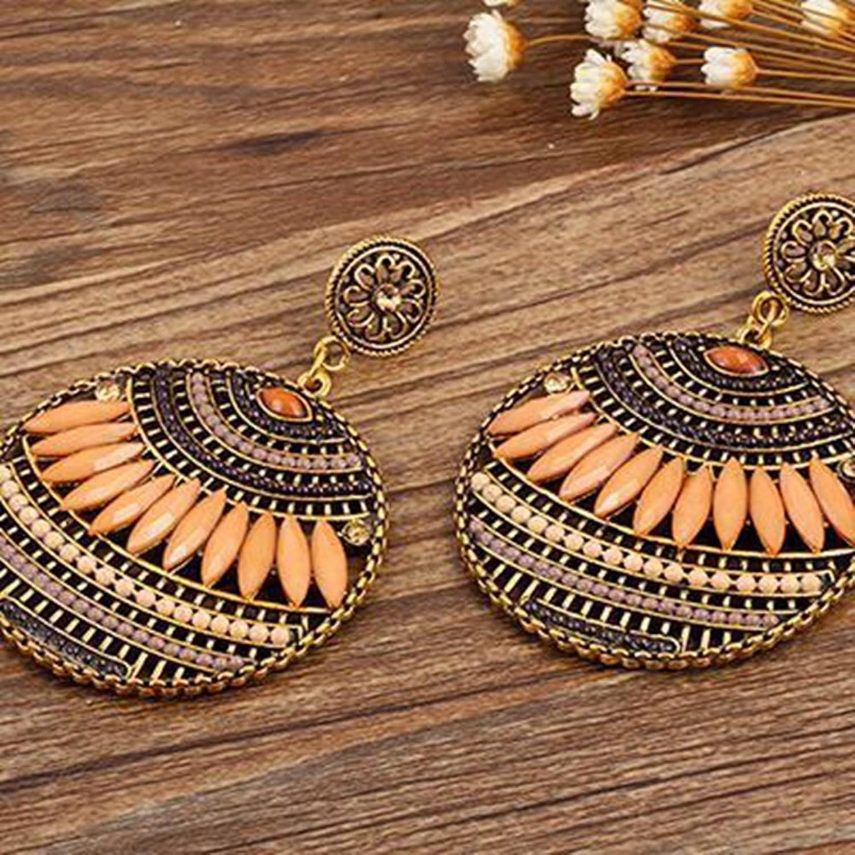 Bohemia Style Earrings Women Girls Jewelry ( 4 color)
