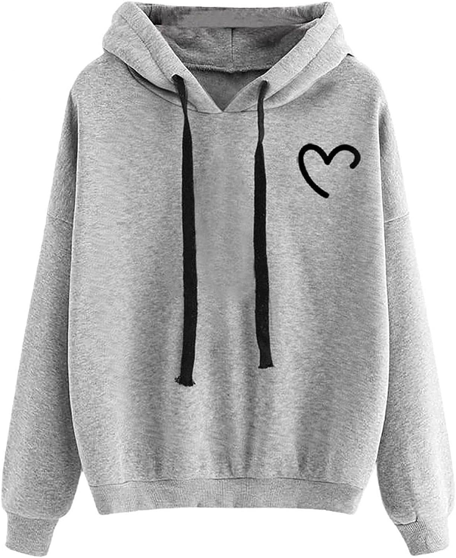 UOCUFY Hoodies for Women, Womens Cute Sweatshirts Skateboarding Frog Long Sleeve Comfy Hoodie Casual Pullover Tops