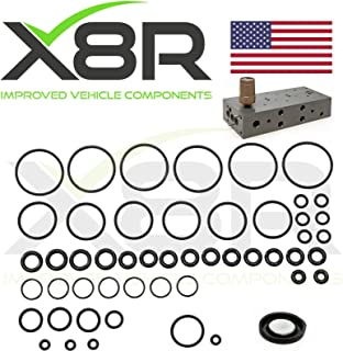 X8R REPLACEMENT FOR RANGE ROVER P38 EAS AIR SUSPENSION VALVE BLOCK O RING + DIAPHRAGM REPAIR FIX KIT PART # X8R26