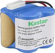 Kastar V1930 Battery (1 Pack), Ni-MH 4.8V 3800mAh, Replacement for Euro Pro Shark X1725QN, V1700Z, VX1, VAC-V1930, V1930, ...
