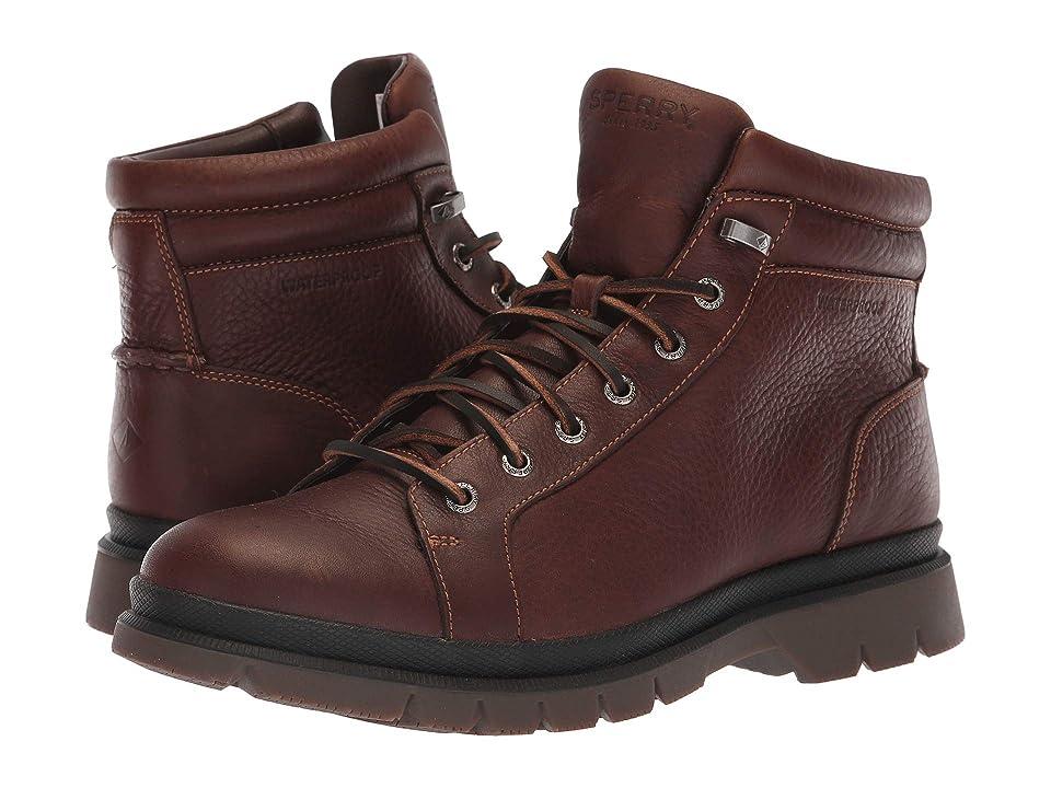 Sperry Watertown LTT Boot (Dark Brown) Men