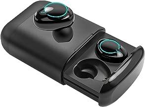 Bluetooth 5.0 True Wireless Earbuds, Souleader Deep Bass HiFi Sports Wireless Earbuds, Sweat Proof Earphones Built-in Microphone, Double Ear Call,Double Speaker