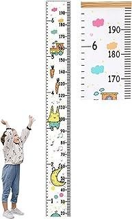 Tomedeks Tige De Hauteur Pour Enfants, Tige De Hauteur En Bois Avec Mètre De Hauteur Suspendu Rotatif, Décoration Murale P...