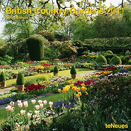 British Country Gardens 2011 (Square Wall Cal)