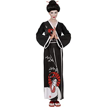 WIDMANN Widman - Disfraz de geisha oriental para mujer, talla L ...