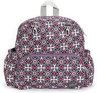 Gitta Mini Total Kids School Bag Child Preschool Backpack, Printed Black and Purple