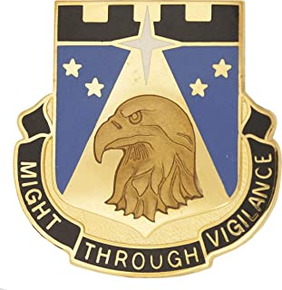 742nd Military Intelligence Battalion Unit Crest (Might Through Vigilance)