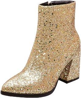 Suchergebnis auf für: glitzer Gold Stiefel