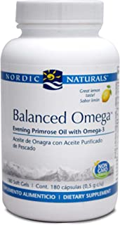 Nordic Naturals - Balanced Omega Combination 180 gels [Health and Beauty]