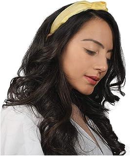 QBQCBB Headband with Buttons for Nurse Hair Accessories Band Fabric Cotton Headband for Yoga
