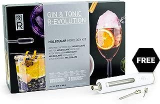 Molecule-R - Gin & Tonic Molecular Mixology Kit + FREE Culinary Syringe - GIN & TONIC R-EVOLUTION
