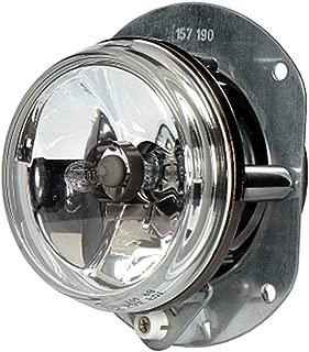 HELLA 008582007 90mm 12V/55W Halogen Fog Lamp Module with Mounting Frame