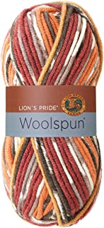 Lion Brand Yarn 671-201 Lion's Pride Woolspun, Mesa Print