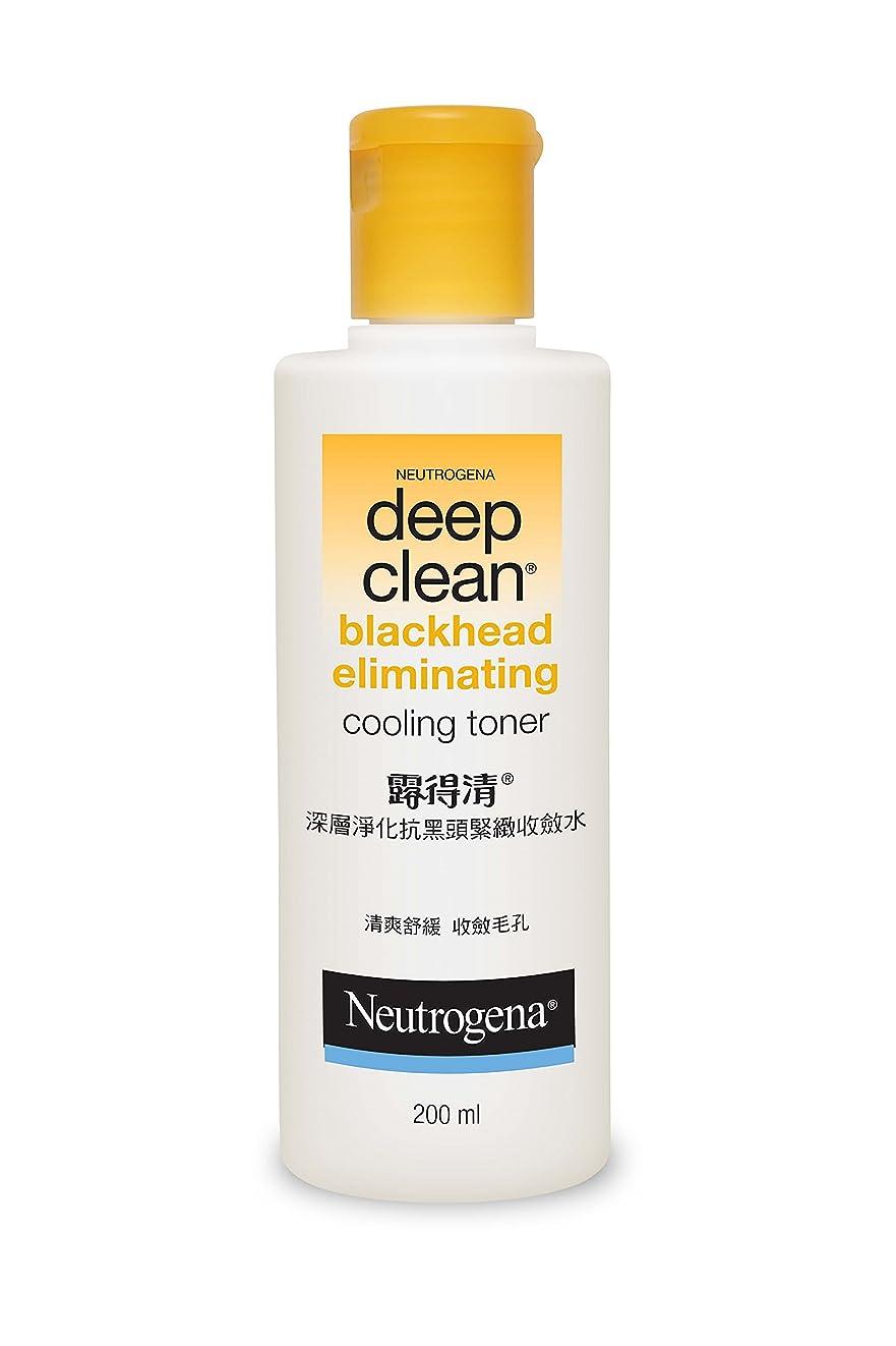 レッドデートプレミア無Neutrogena Deep Clean Blackhead Eliminating Cooling Toner, 200ml