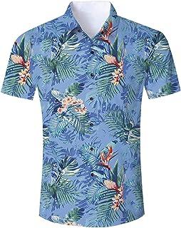 010dac9d373f65 Amazon.it: A fiori e tropicale - Camicie / T-shirt, polo e camicie ...