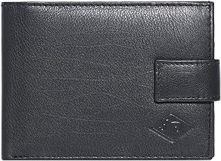 محفظة رجالي مصنوعة يدويًا من الجلد الطبيعي / حامل بطاقات الائتمان / نافذة بطاقة الهوية / جيب للعملات المعدنية في علبة هدية...