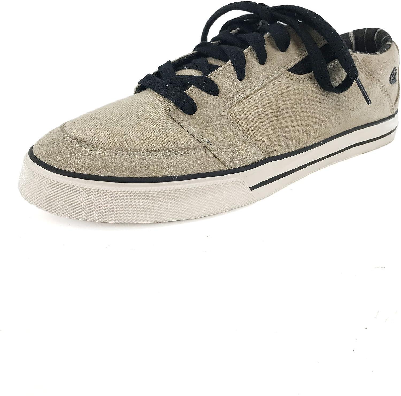 Gravis Lowdown Khaki Canvas Sneakers US13 EU46.5 JP31