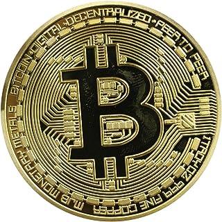 OUPU ビットコイン BitCoin 仮想通貨 高級感漂う 収蔵 贈り物 プレゼント 鑑賞 ホビー 集め (1C)
