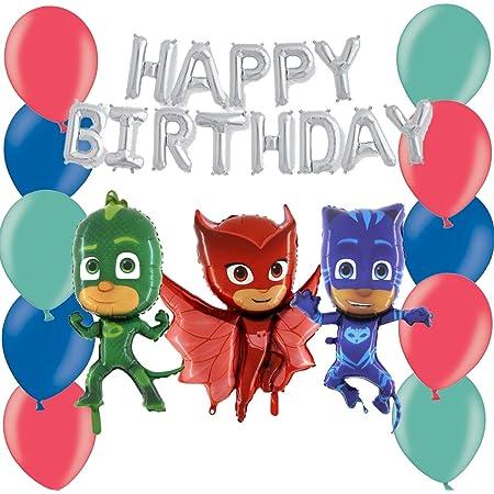 TOYLAND Paquete de Globos PJ Masks Pig Party: con Pancarta de ...