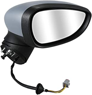 WINOMO interno coche espejo retrovisor interior universal Espejo retrovisor gran angular espejo retrovisor de alta visibilidad Reemplazo 20/* 6/cm