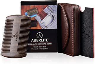 Aberlite Beard Straightening Comb Sandalwood (Black Sandalwood)
