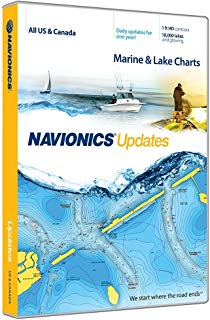 Navionics Updates US and Canada Marine and Lake Charts on SD/MSD