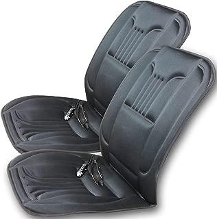 Terynbat 12V Heizauflagen Auto Sitzbez/üge Universal Beheizbare Kissen Auto Sitzheizung Sitzauflage Heizkissen Auto Vorne Beheizte Sitzkissen Pad Abdeckung