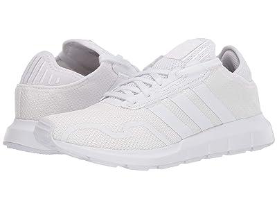 adidas Originals Kids Swift ESS J (Big Kid) (Footwear White/Footwear White/Footwear White) Kids Shoes