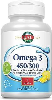 comprar comparacion Kal Omega 3 450/300 | Sin Gluten | 60 Perlas