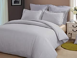 Best silver grey duvet cover Reviews