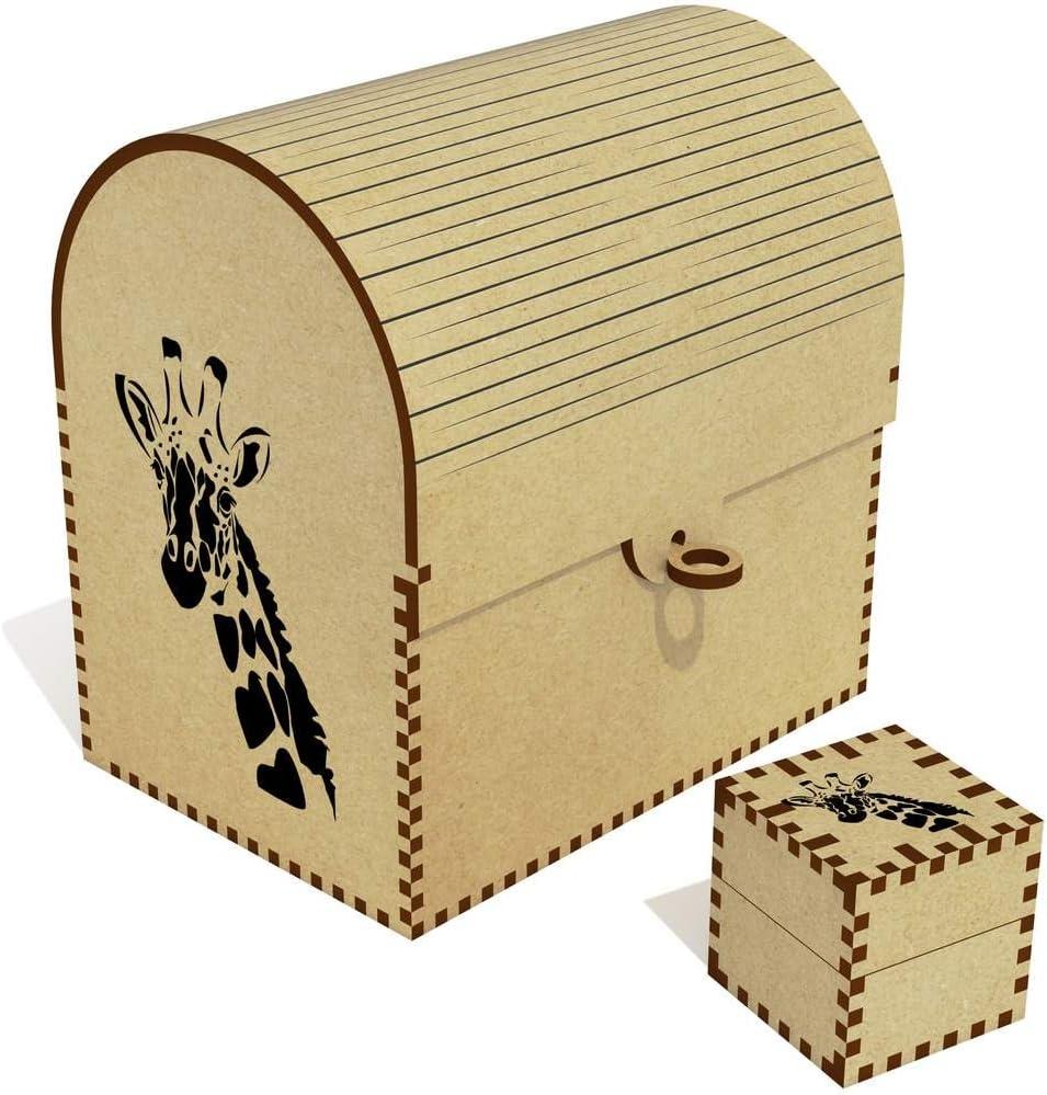 Azeeda Ranking TOP16 'Giraffe' Treasure Chest Jewellery TC00001623 Soldering Box