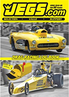 JEGS Drag Racing Log Book - 2019, track each run and all the variables