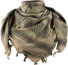 Shemagh with Spartan Helmet Military Skarf Face Mask Head Wrap Keffiyeh