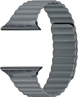 Best apple watch grey leather loop Reviews